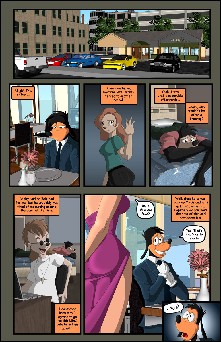 Porn Comics - Goofy Date- Dreamweaver porn comics 8 muses