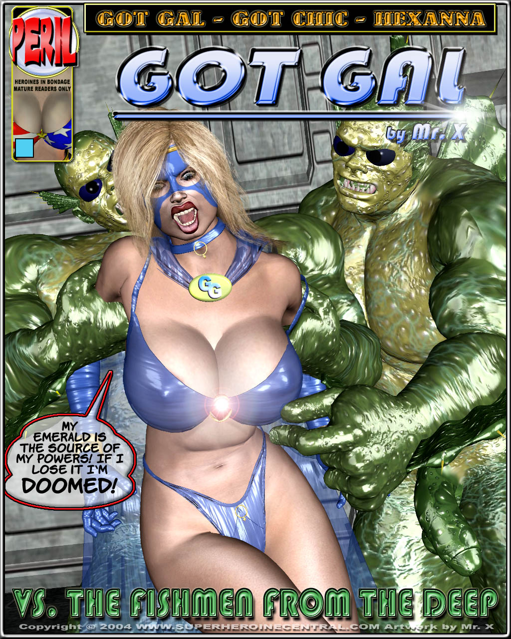 Porn Comics - Got Gal vs Fishmen From The Deep porn comics 8 muses