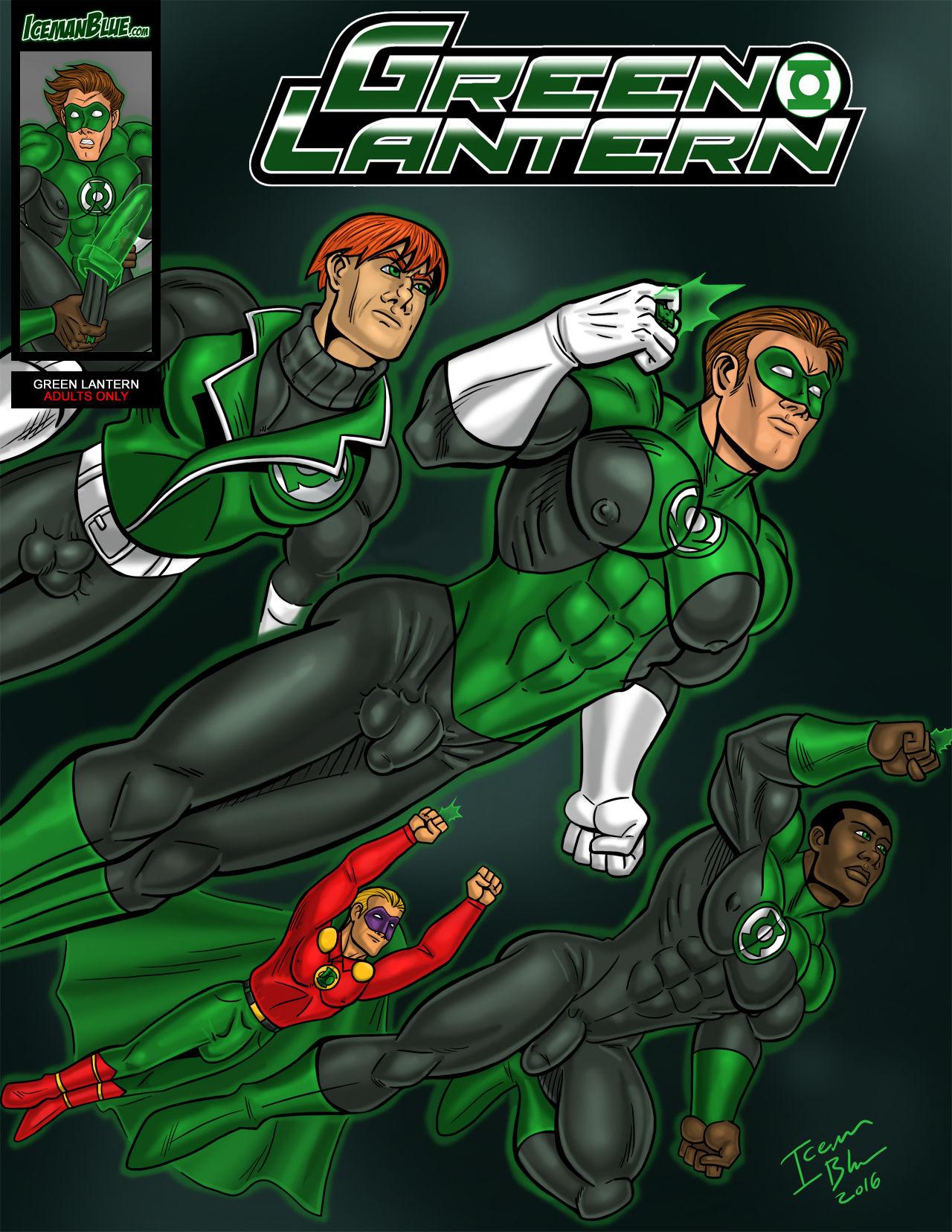 Porn Comics - Green Lantern- Iceman Blue porn comics 8 muses