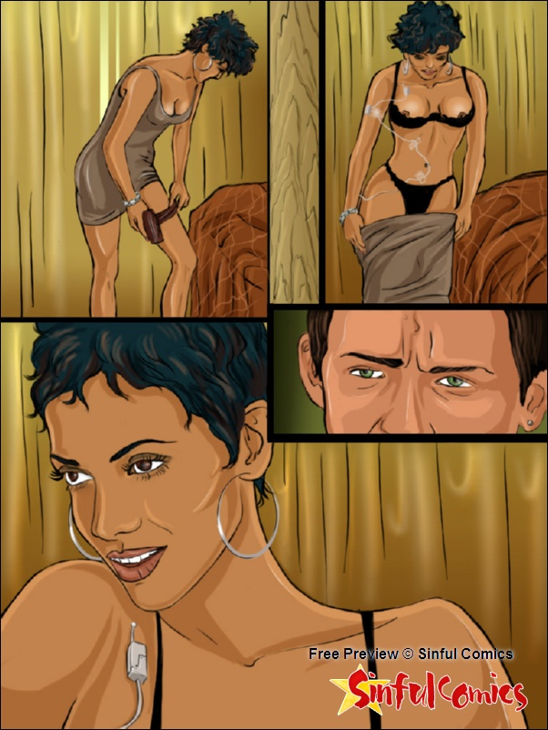 Porn Comics - Halle Berry Teamed by Hugh and John porn comics 8 muses