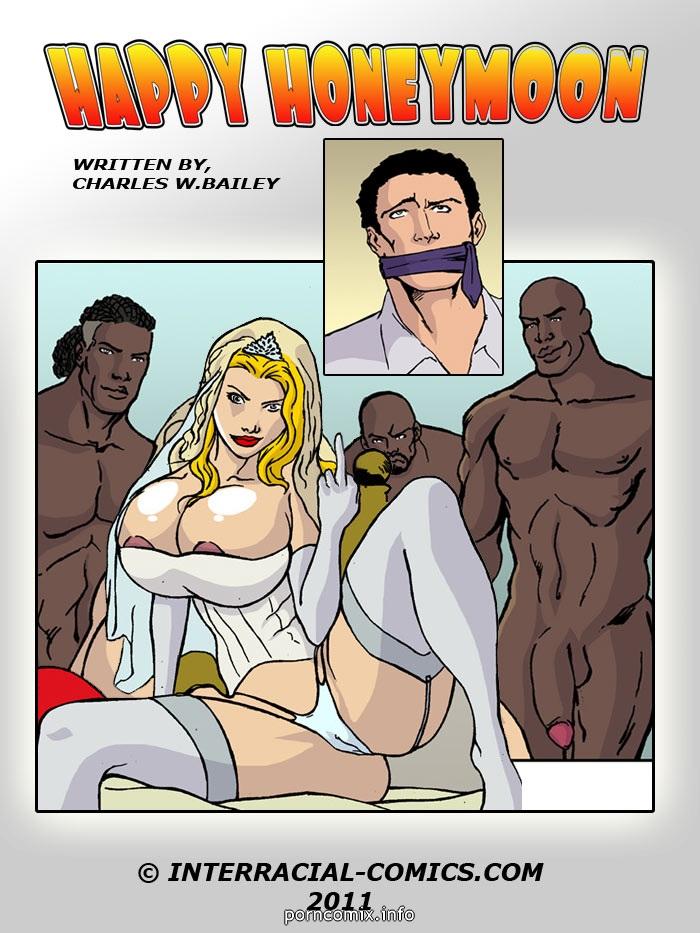 Porn Comics - Happy Honeymoon- Interracial porn comics 8 muses