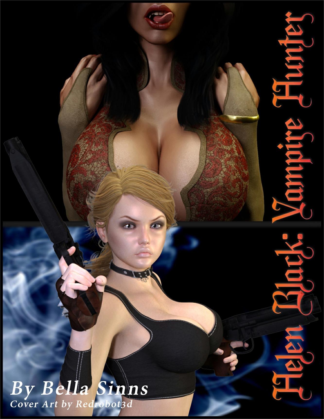 Helen Black, Vampire Hunter- Redrobot3D image 1