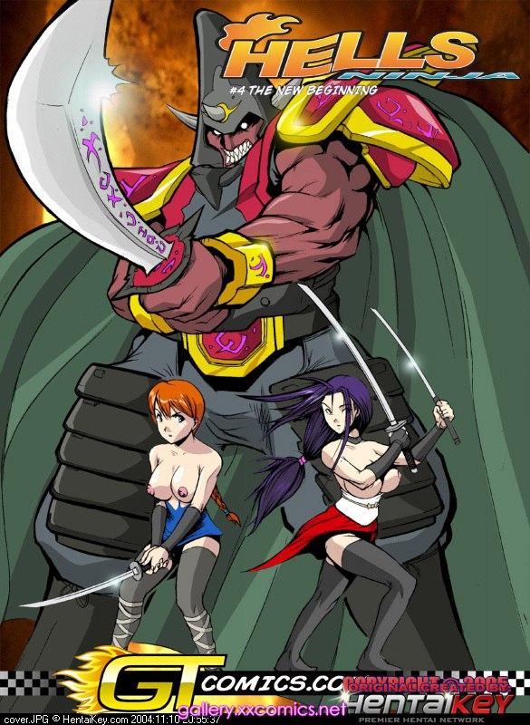 Hell Ninja 4 & 5- Hentai Key image 01