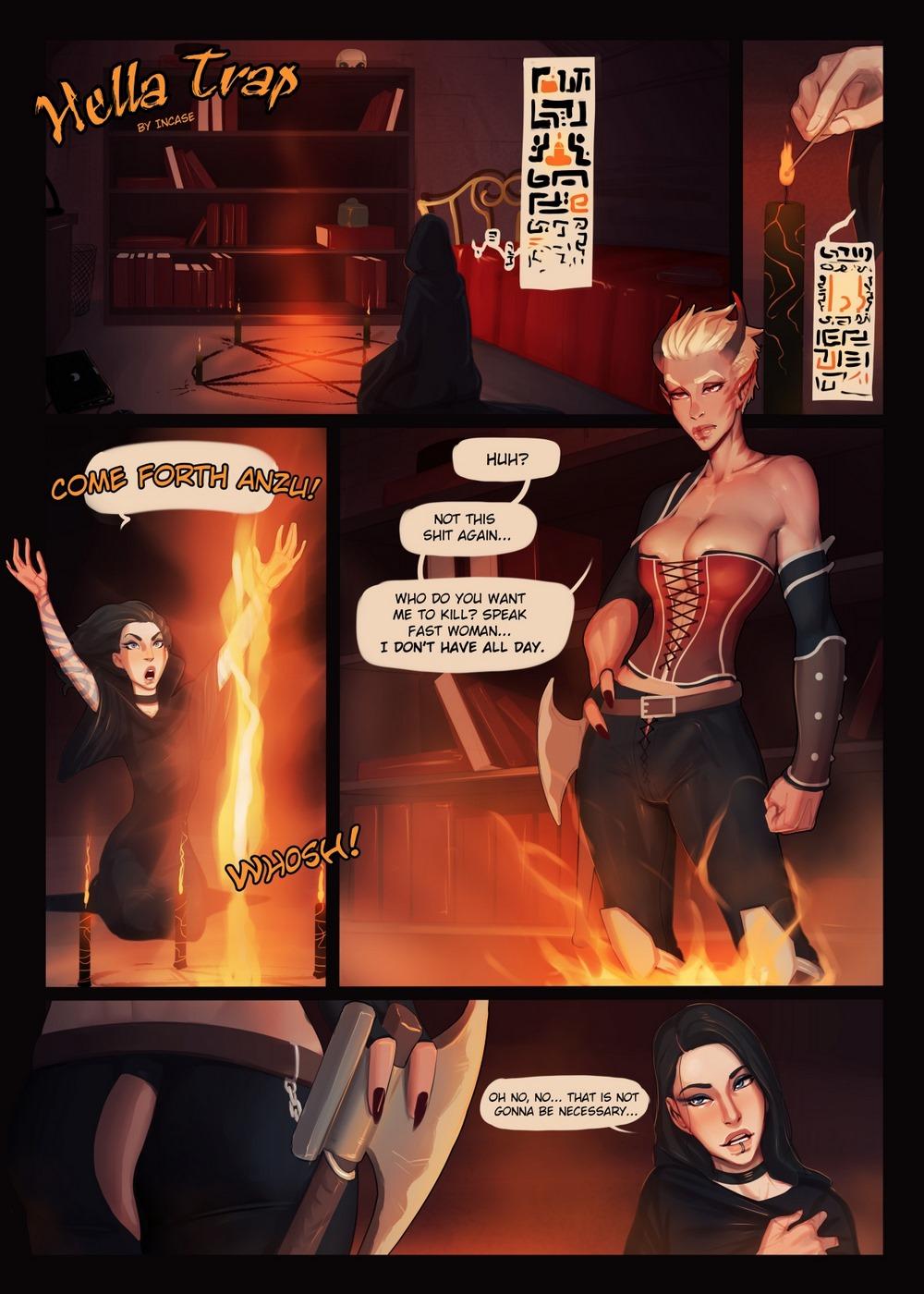 Porn Comics - Hella Trap- InCase porn comics 8 muses