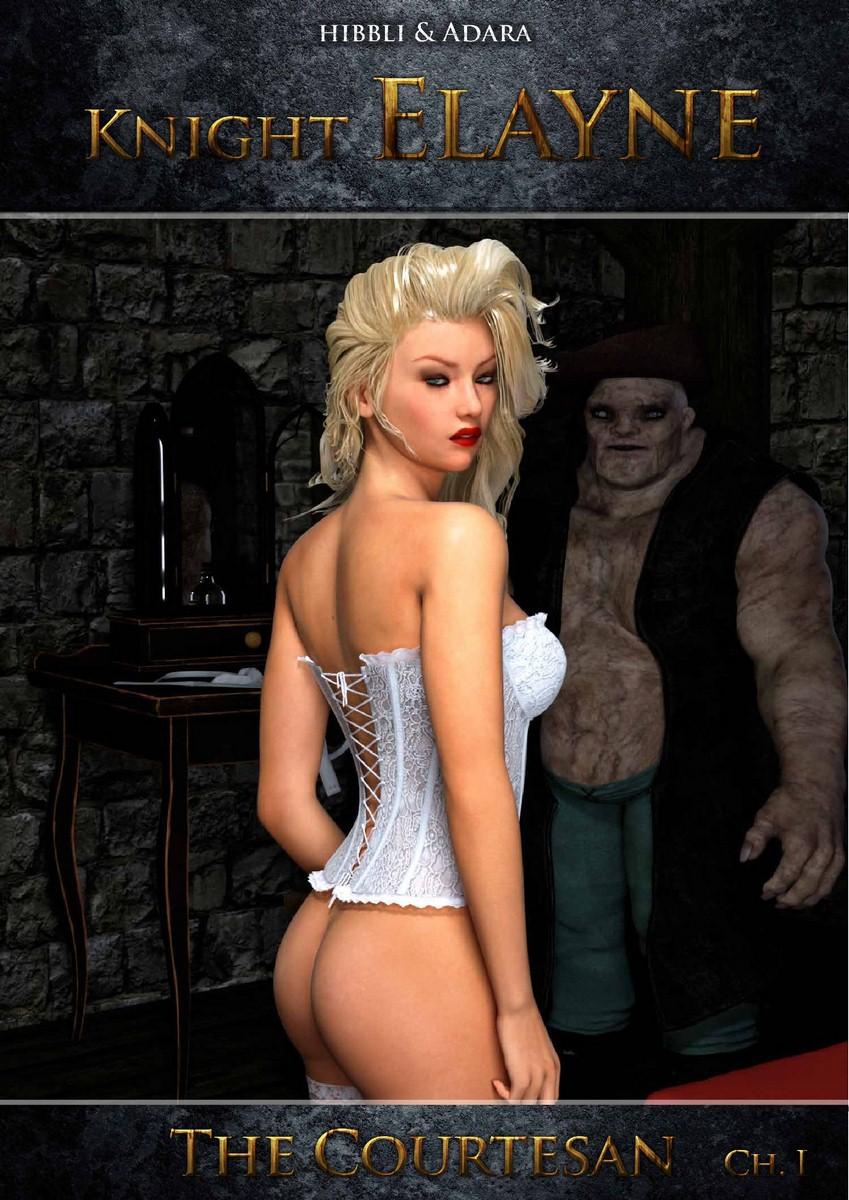 Porn Comics - Hibbli3D~ Knight Elayne- The Courtesan porn comics 8 muses