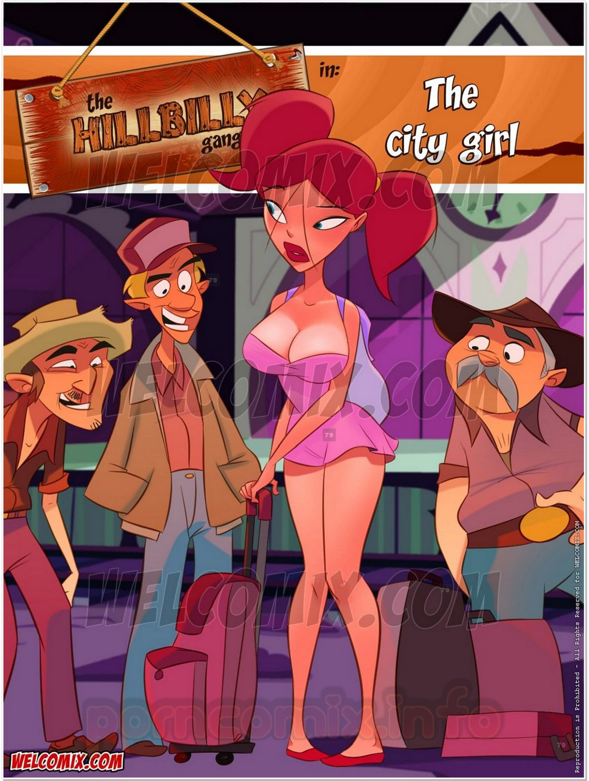 Porn Comics - Hillbilly Gang 11- The City Girl- Welcomix porn comics 8 muses
