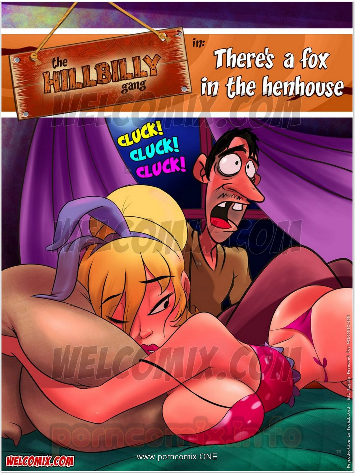 Porn Comics - Hillbilly Gang 8- There's a Fox in House porn comics 8 muses