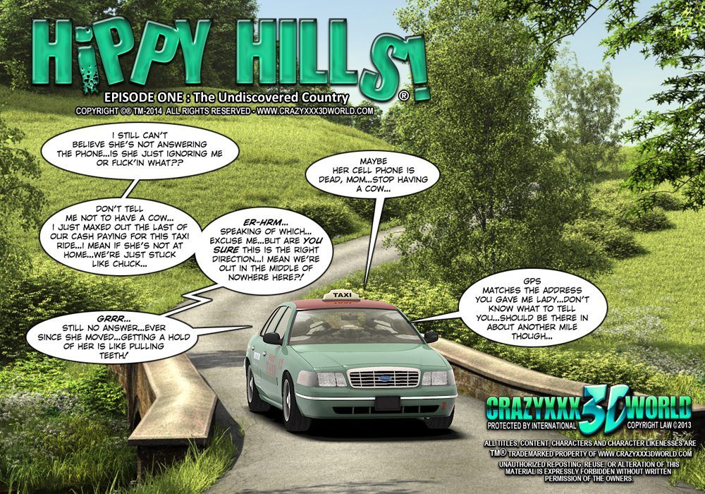 Hippy Hills-Episode 1 Undiscoverd Country image 01
