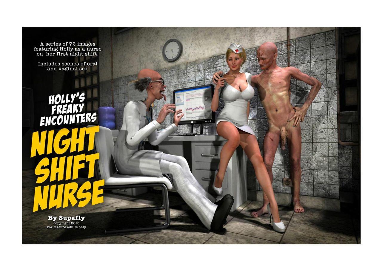 Holly's Freaky Encounters- Night Shift Nurse image 1