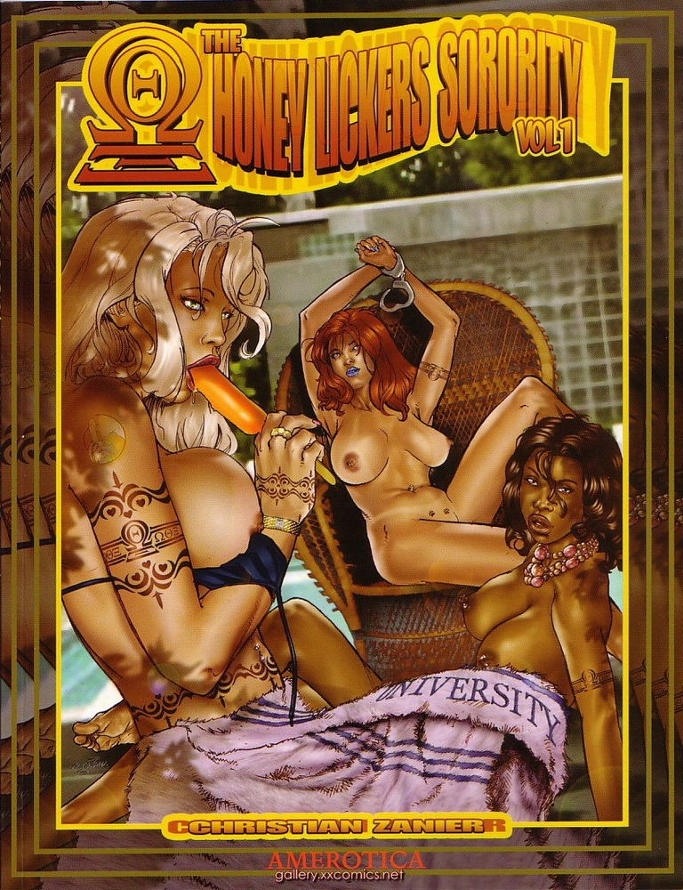 Porn Comics - Honey Lickers Sorority porn comics 8 muses