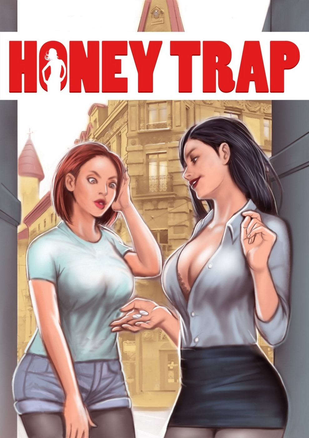 Porn Comics - Honey Trap- Giantess Fan porn comics 8 muses