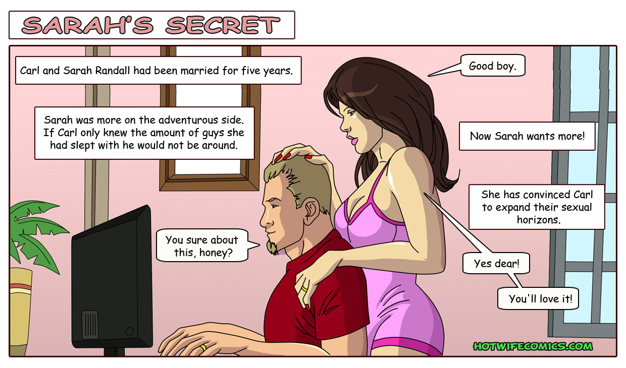 Porn Comics - Hot Wife Comics-Sarah's Secret porn comics 8 muses