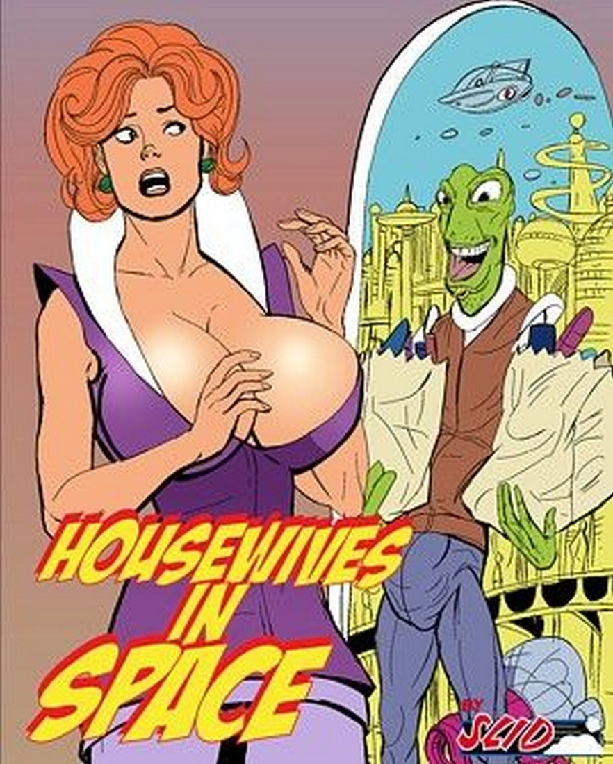 Porn Comics - Housewifes in Space 1-4 porn comics 8 muses