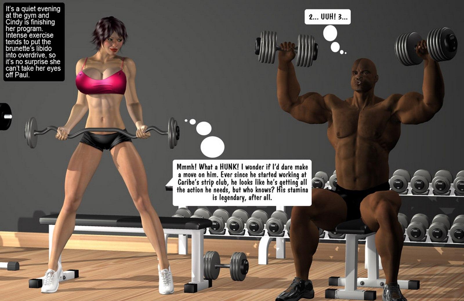 Porn Comics - Huge Tits-Paul Dancing Fitness Sex porn comics 8 muses