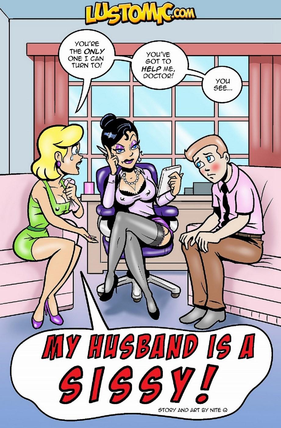 Porn Comics - My Husband is a Sissy- Lustomic porn comics 8 muses