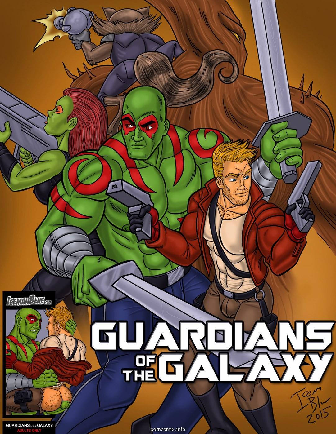 Porn Comics - [Iceman Blue] Guardians of the Galaxy porn comics 8 muses