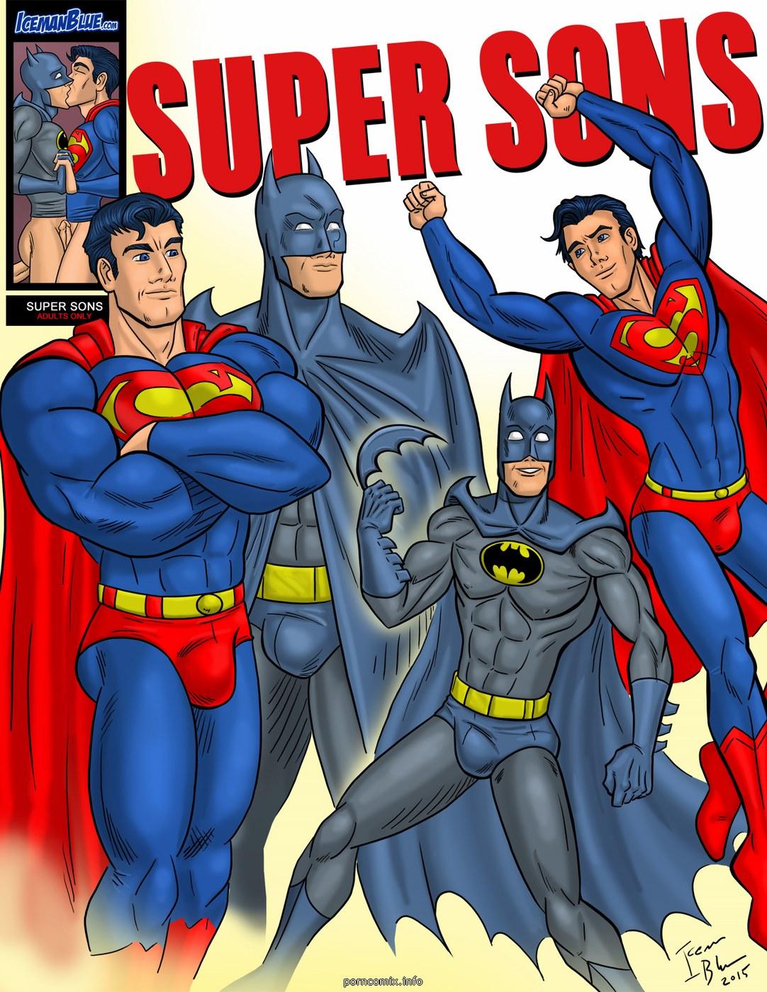 Porn Comics - [Iceman Blue] Super Sons porn comics 8 muses
