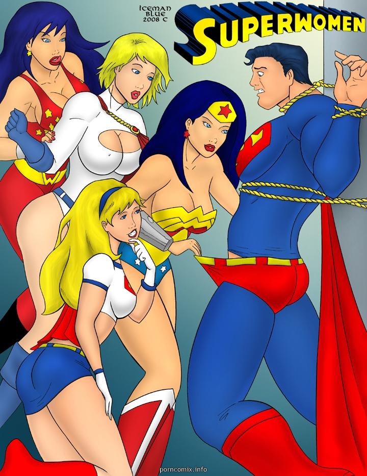 Porn Comics - [Iceman Blue] Superwomen porn comics 8 muses