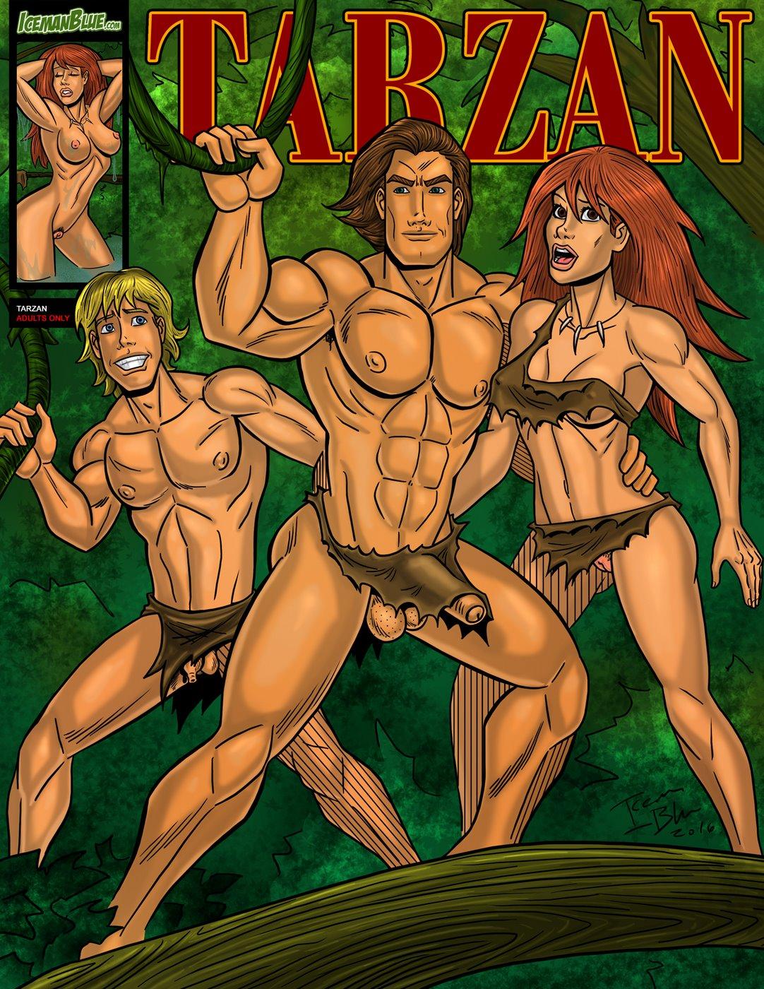 Porn Comics - Iceman Blue- Tarzan porn comics 8 muses