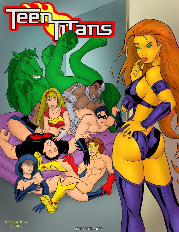 Porn Comics - [Iceman Blue] Teen Titans- Sex Education porn comics 8 muses