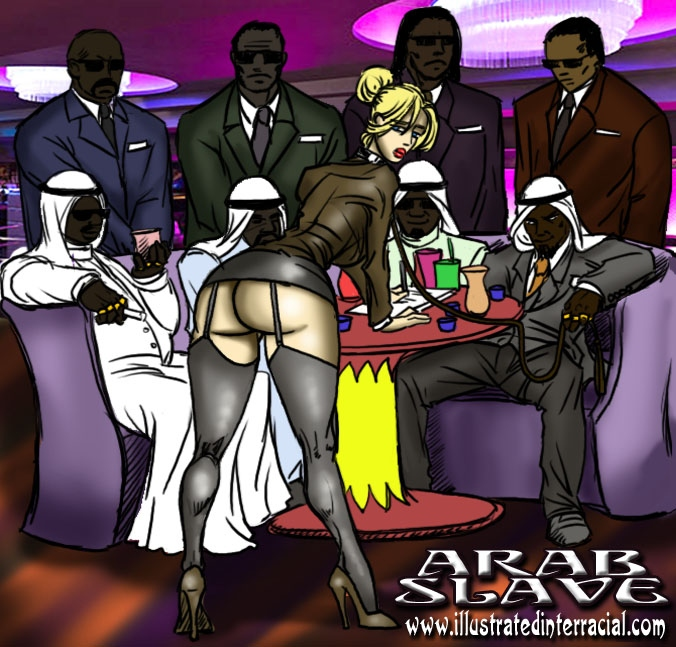 Porn Comics - Arab Slave- illustrated interracial porn comics 8 muses