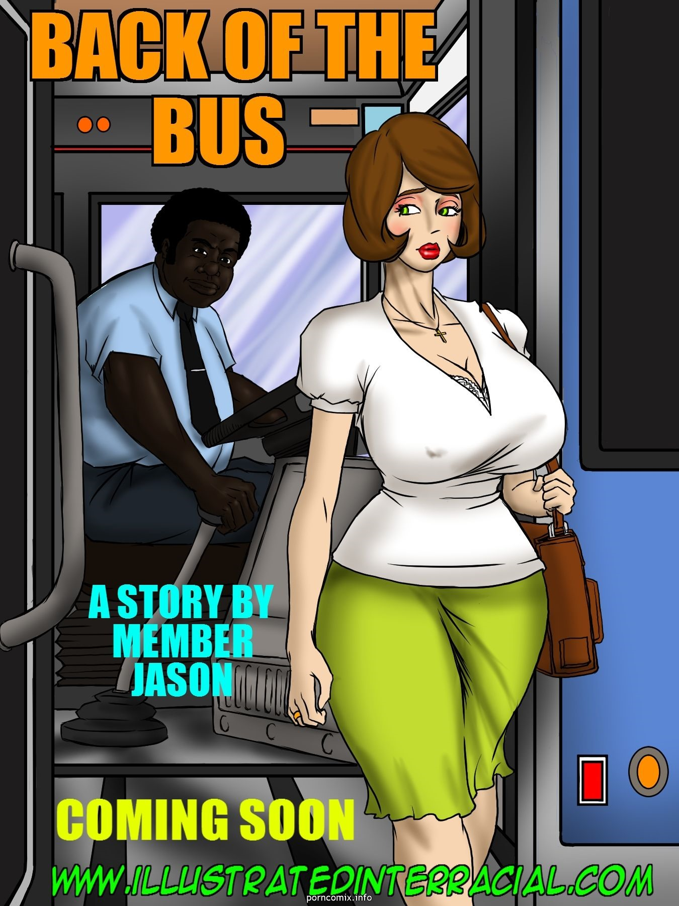 Porn Comics - illustrated interracial- Back Of The Bus porn comics 8 muses