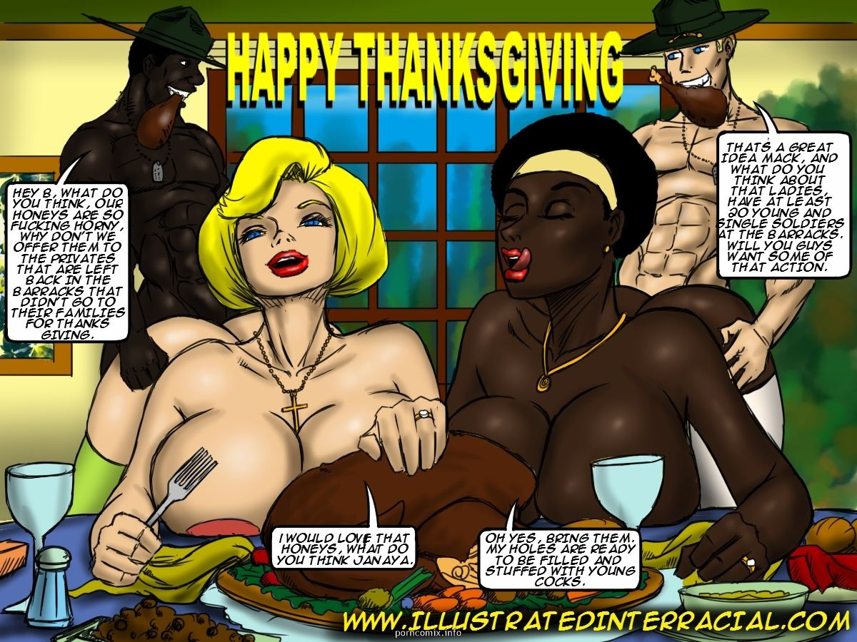 Porn Comics - Holiday Pictures- illustrated interracial porn comics 8 muses