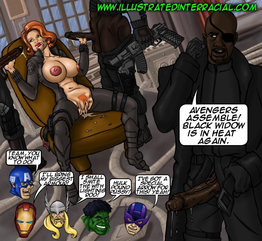 Porn Comics - illustrated interracial- Parodies porn comics 8 muses