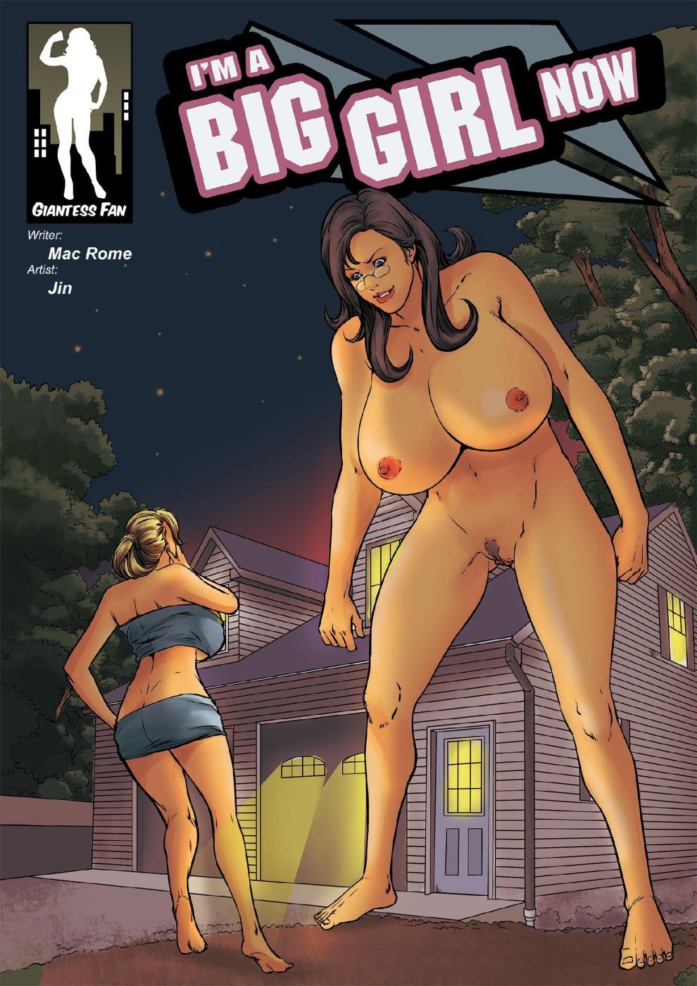 Porn Comics - I'm A Big Girl 2- Giantessfan porn comics 8 muses