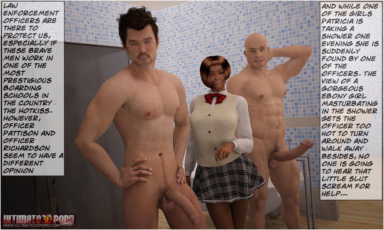 Porn Comics - The Hotkiss Boarding School 3 porn comics 8 muses