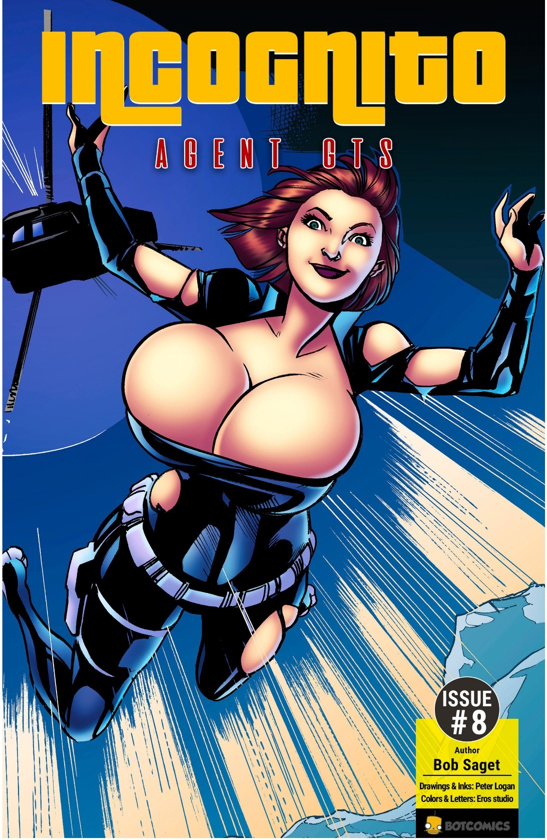 Porn Comics - Incognito – Agent GTS 8 by Bot porn comics 8 muses