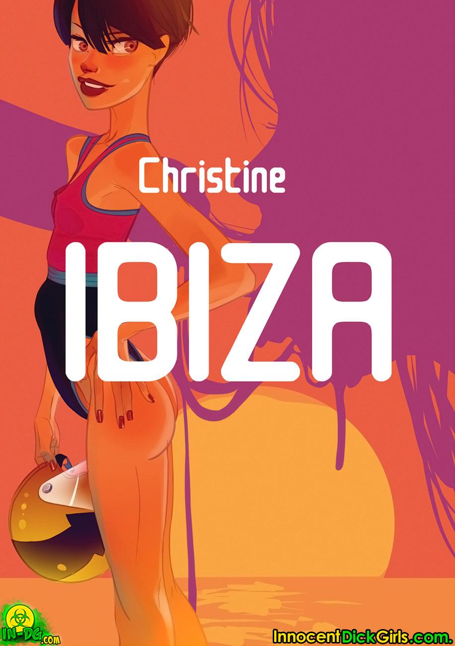 Innocent Dickgirls- Christine Ibiza image 1