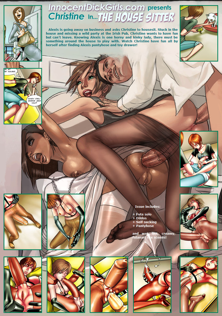 Porn Comics - Innocent Dickgirls-The Housesitter porn comics 8 muses