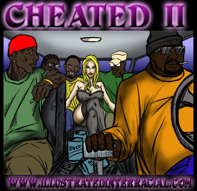 Porn Comics - Cheated 2- illustrated interracial porn comics 8 muses