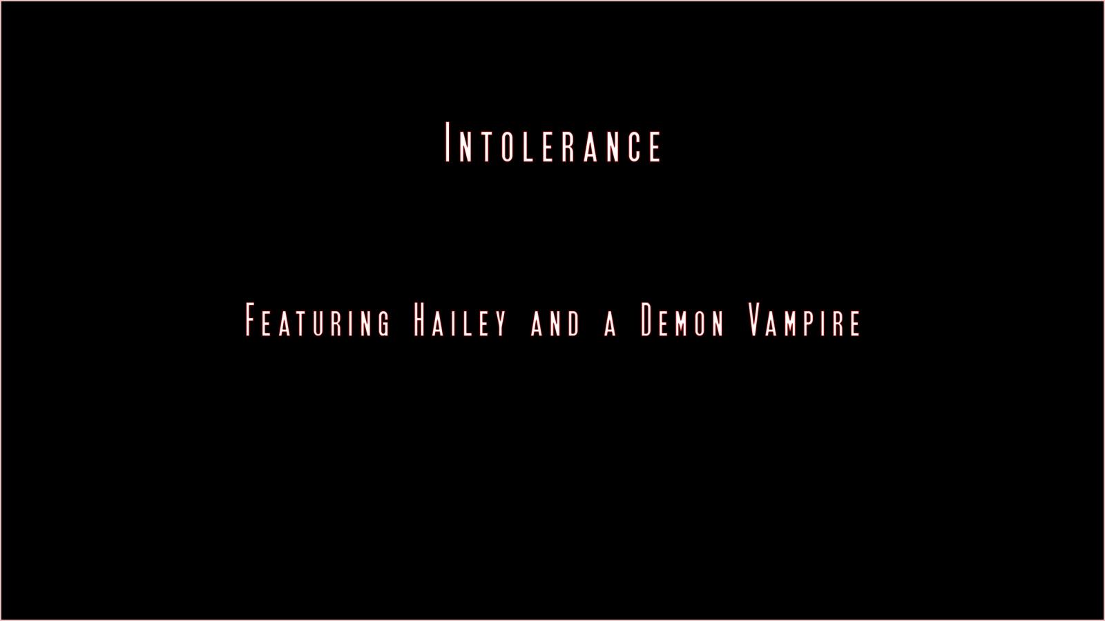 Intolerance- Demon Vampire – 3DZen image 1