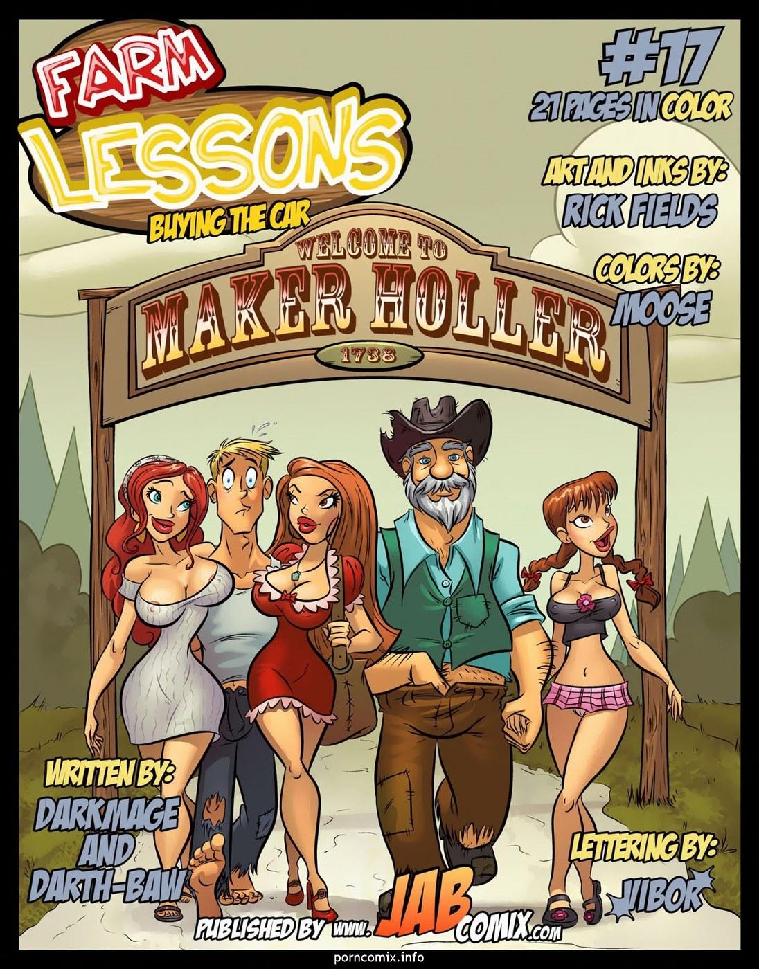 Porn Comics - Farm Lessons 17 porn comics 8 muses