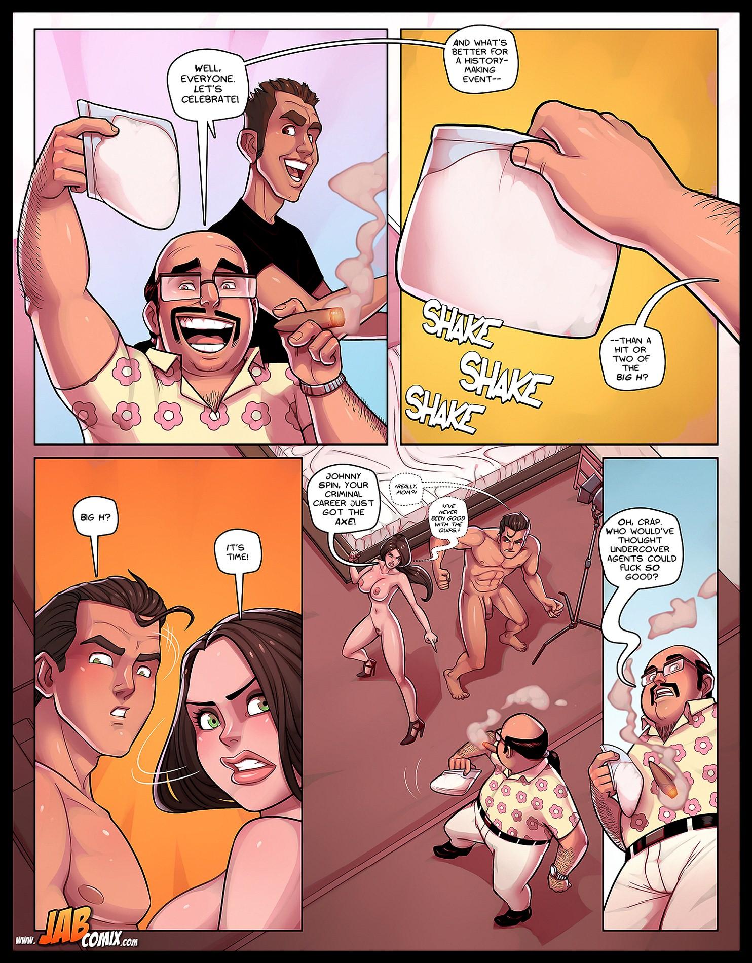 Porn Comics - Jab Comix- Spy Games porn comics 8 muses
