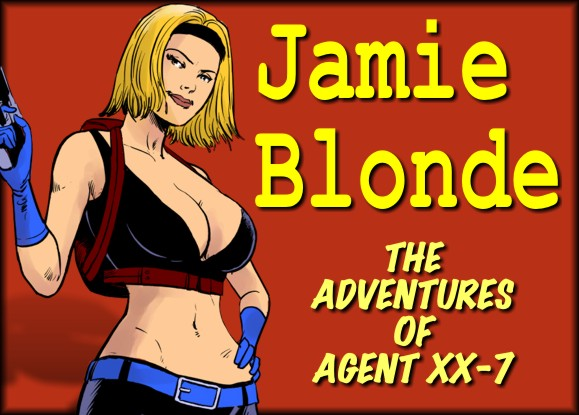 Porn Comics - Jamie Blonde Adventures Agent XX -7 porn comics 8 muses
