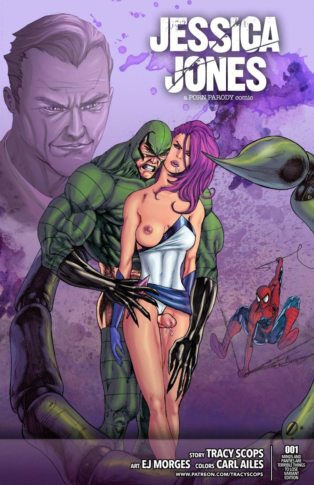 Porn Comics - Jessica Jones-Tracy Scops (Spiderman) porn comics 8 muses