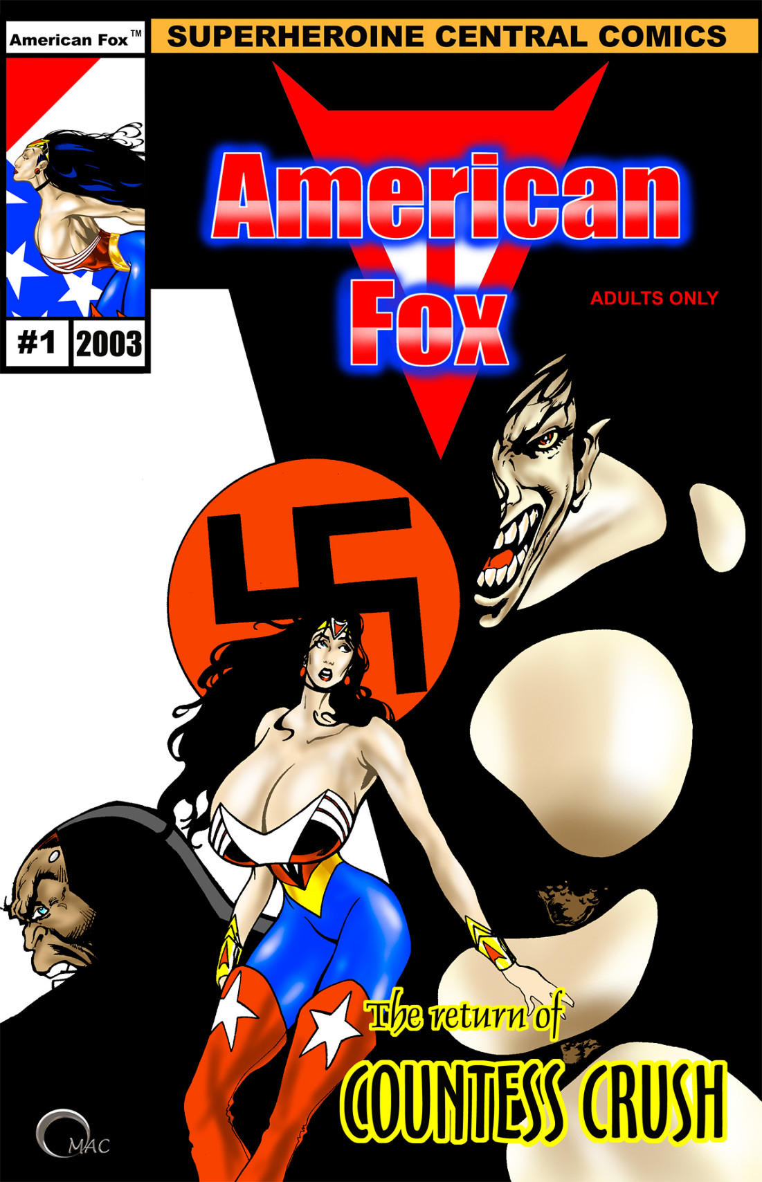 Porn Comics - American Fox – Return of Countess Crush porn comics 8 muses