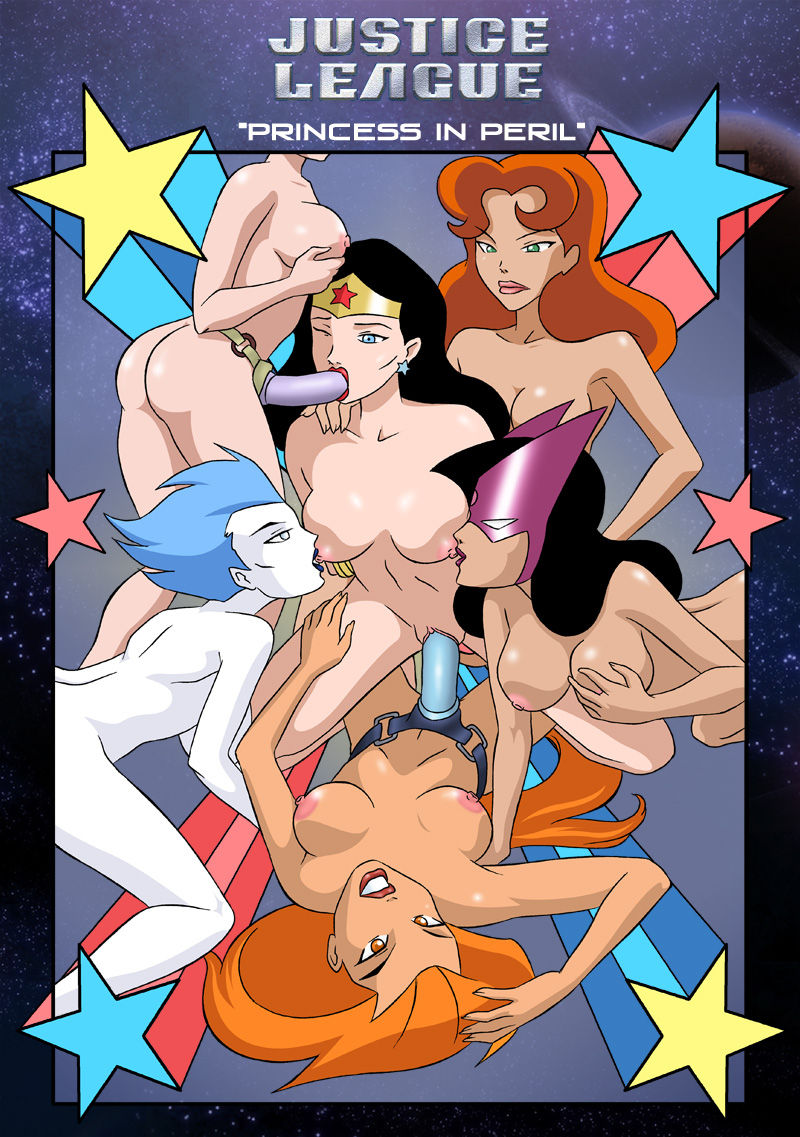 Porn Comics - Justice League-Princess in peril porn comics 8 muses