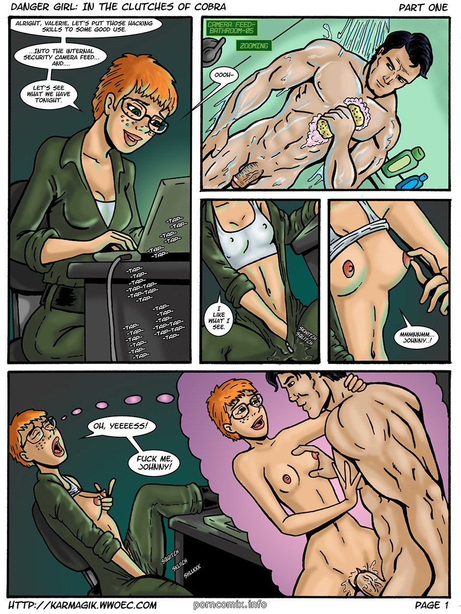 Porn Comics - Karmagik – Danger Girl In the Clutches of Cobra porn comics 8 muses