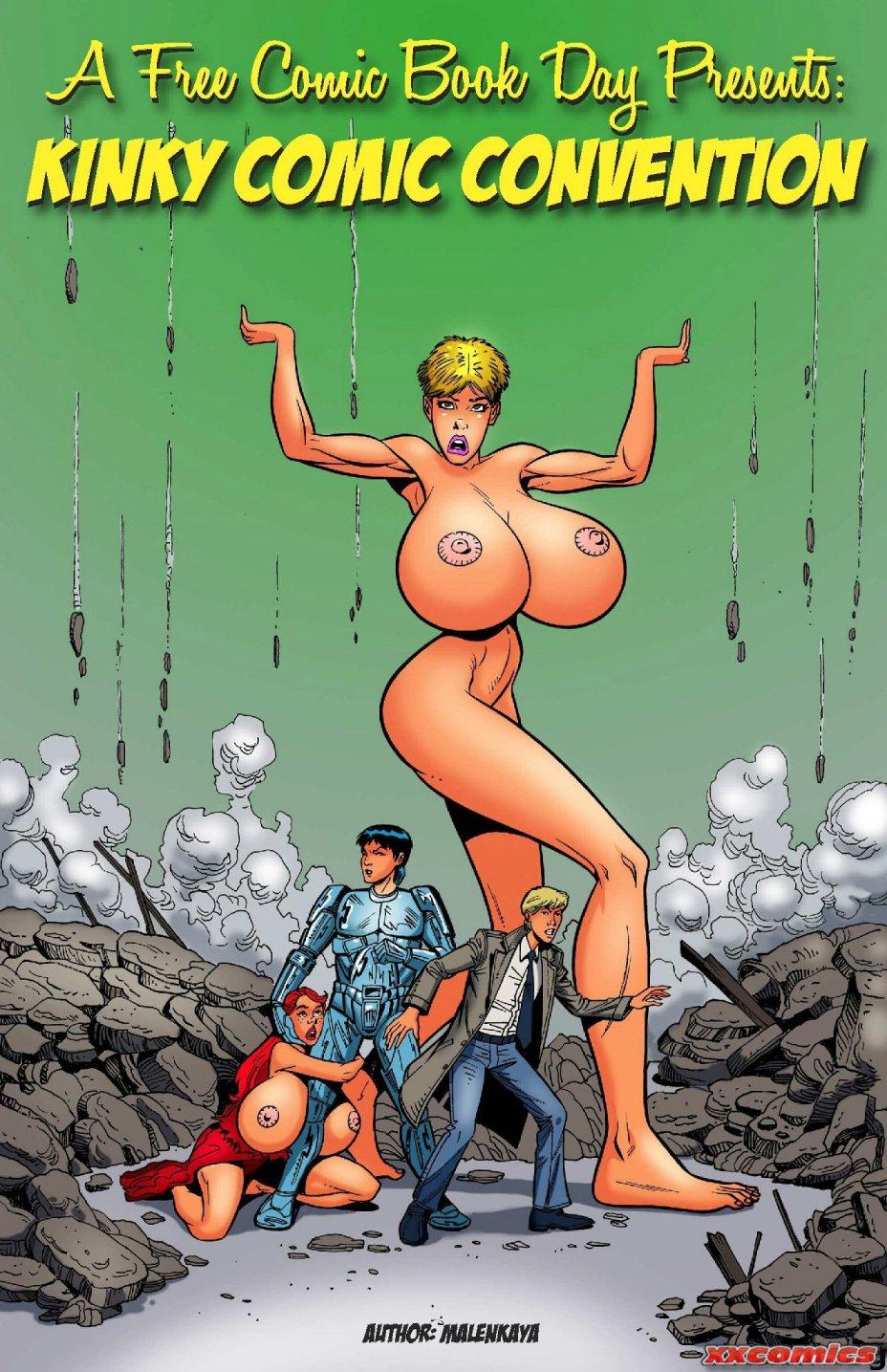 Porn Comics - Kinky Comic Convention Malenkaya porn comics 8 muses