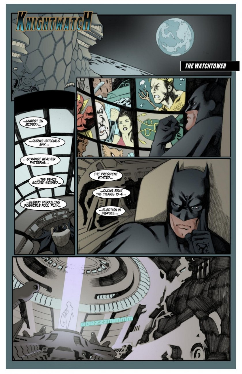 Porn Comics - Knightwatch- Justice League porn comics 8 muses