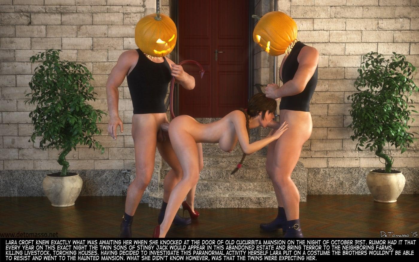 Porn Comics - Lara Croft And Sons Of Sting Jack- DeTomasso porn comics 8 muses