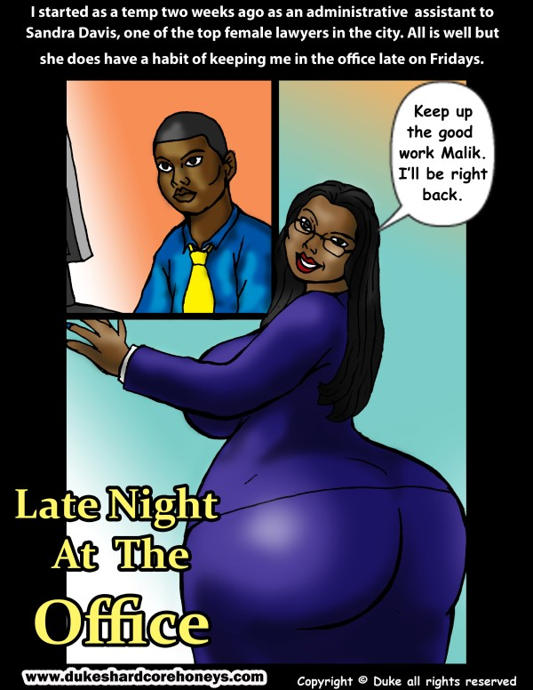 Porn Comics - Late Night at The Office- Duke Honey porn comics 8 muses