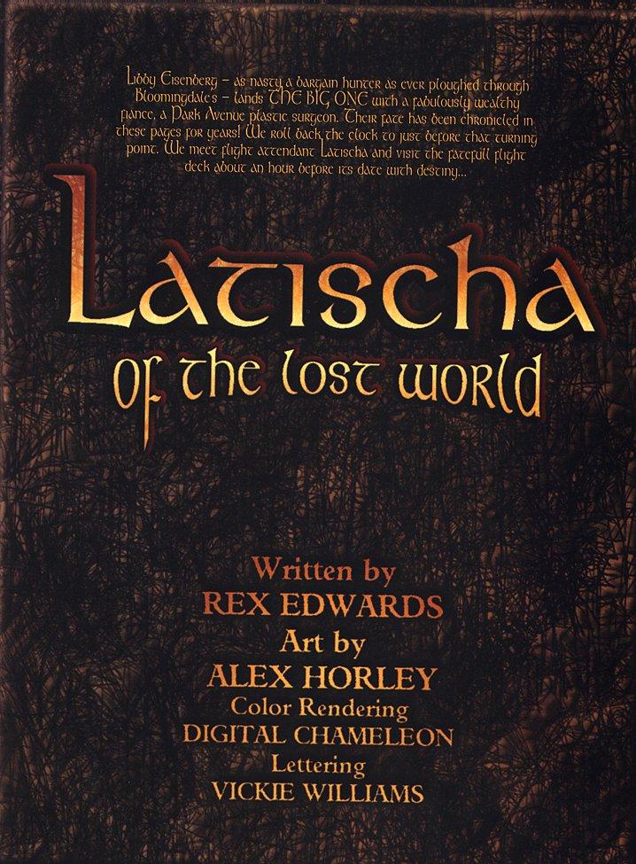 Porn Comics - Latischa of the Lost World- Alex Horley porn comics 8 muses