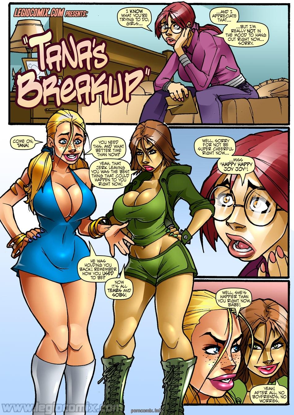 Porn Comics - Tana's Breakup- LegioComix porn comics 8 muses