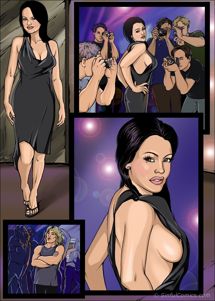 Porn Comics - Lindsay's Nasty night out- Sinful porn comics 8 muses
