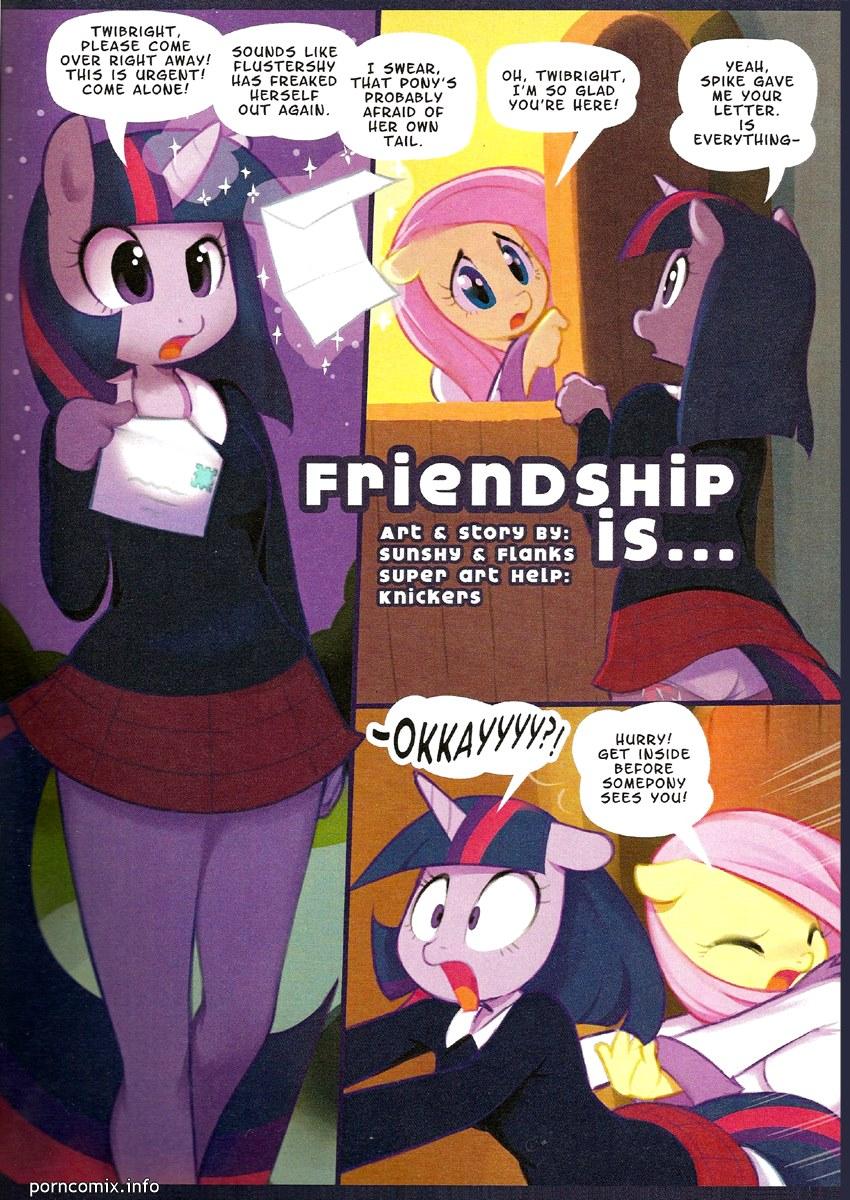 Porn Comics - My Little Pony-Friendship Is … porn comics 8 muses